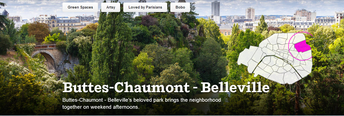 Buttes Chaumont Belleville