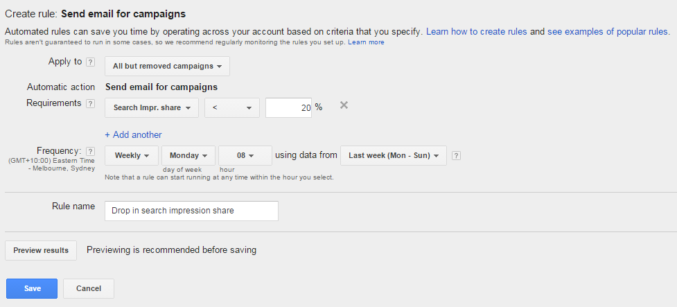Search IS Adwords