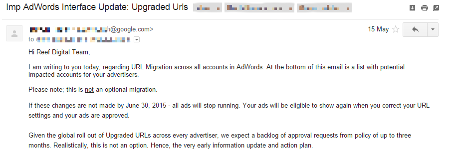 upgraded url email redacted