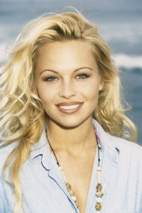 Pamela Anderson in her early years