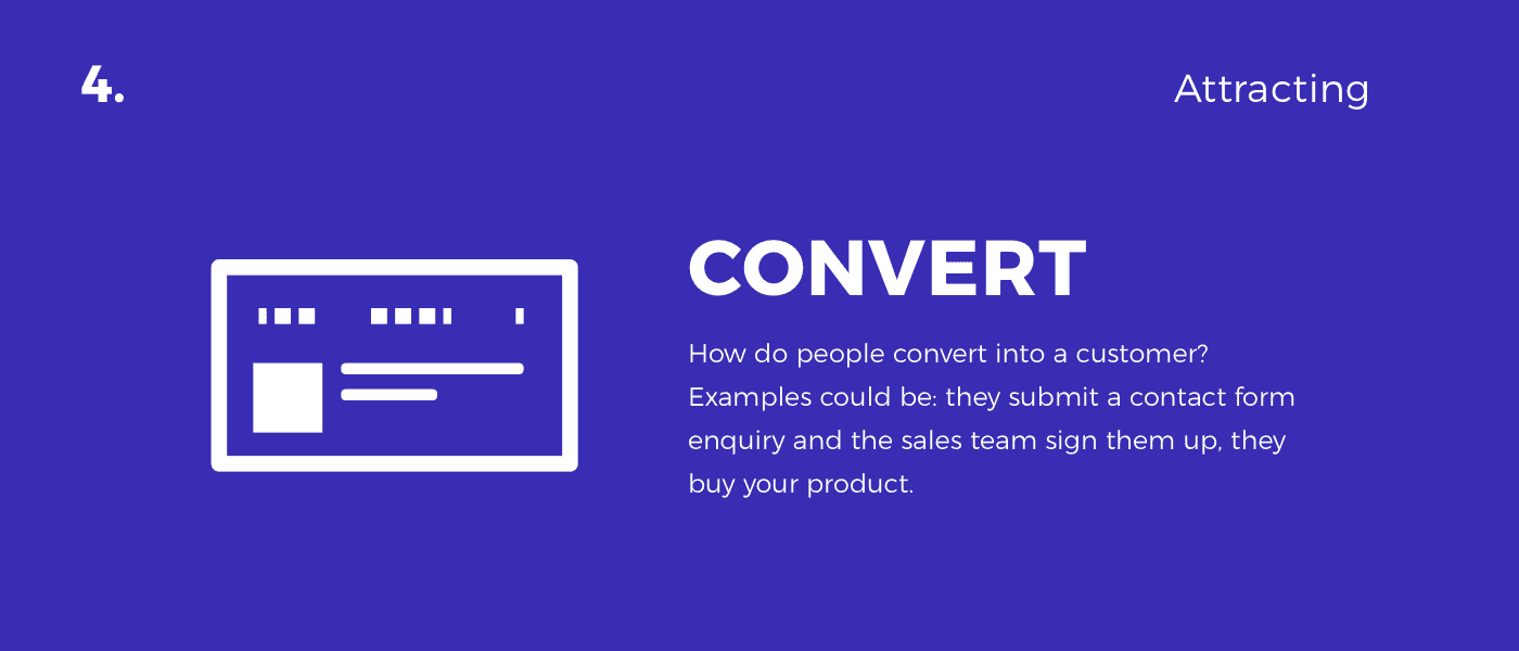 convert - customer journey