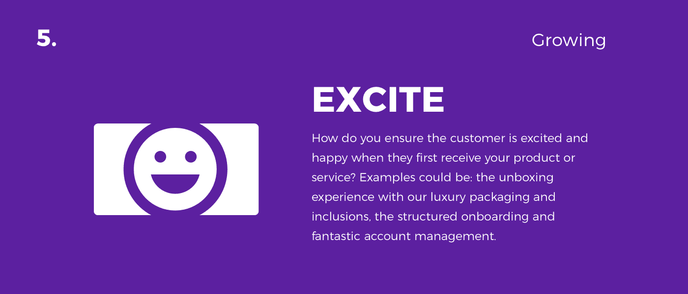 excite - customer journey