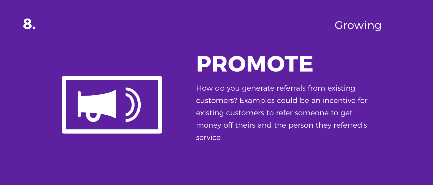 promote - customer journey