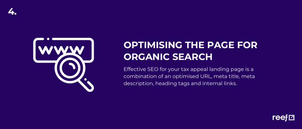 optimise landing page for seo best practice