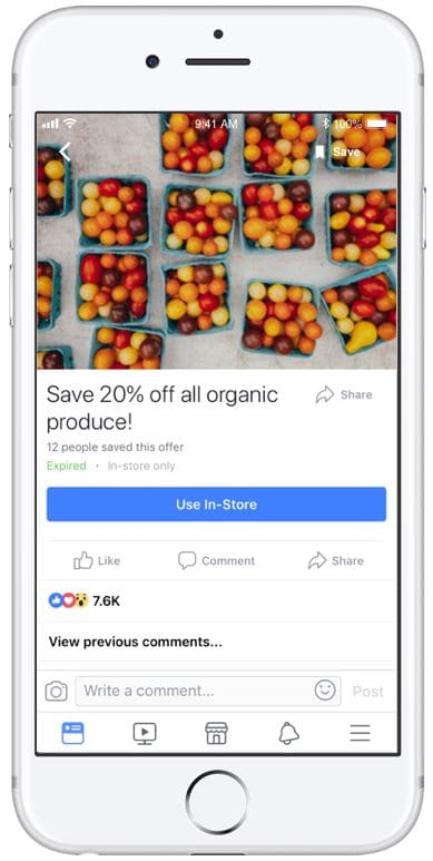 facebook offer ads